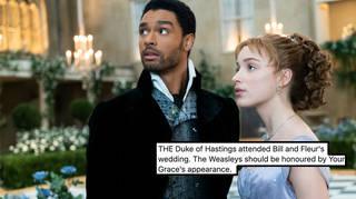 Bridgerton's Simon actor appeared in a Harry Potter film