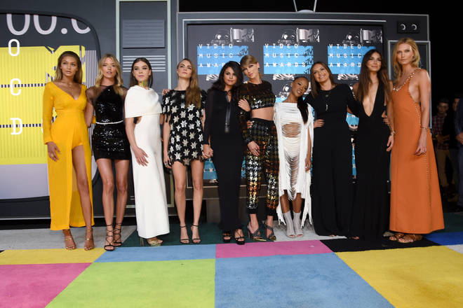 Karlie Kloss was part of Taylor Swift's girl squad