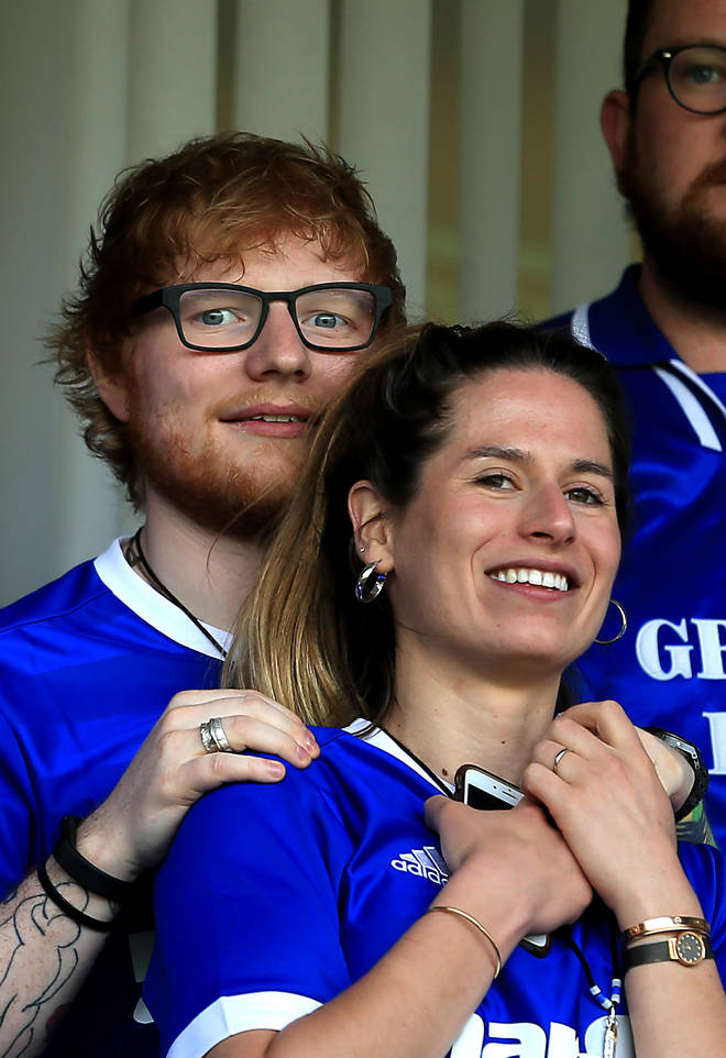 Ed Sheeran and wife Cherry recently welcomed a daughter