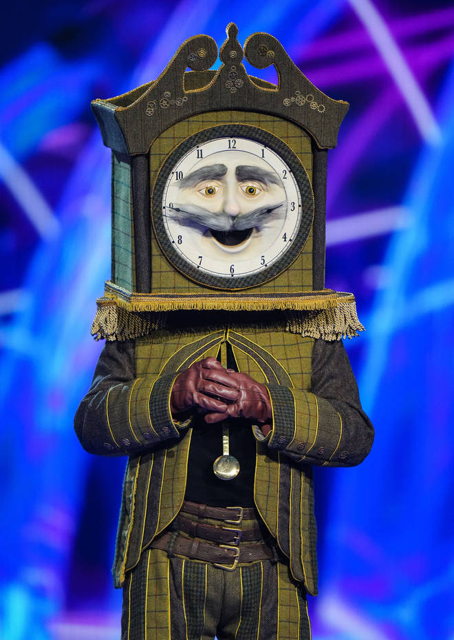 Chris Kamara didn't deny he's the Grandfather Clock