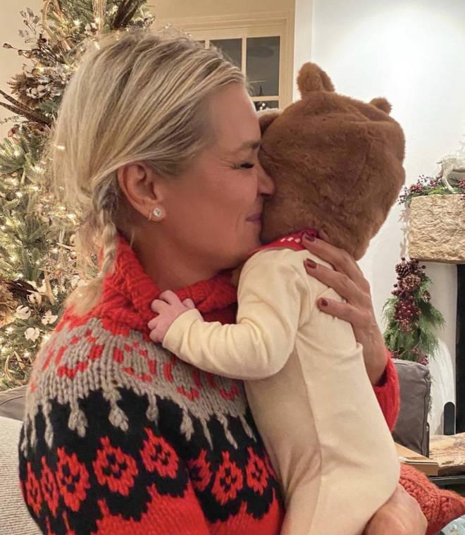 Yolanda posts photo of Zayn and Gigi's little girl