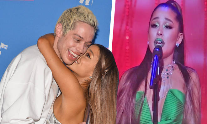 Ariana Grande and Pete Davidson split after dating for four months