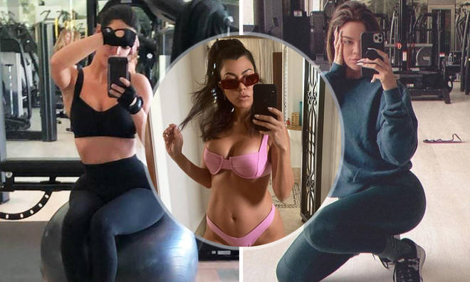 Can you keep up with the Kardahian's gruelling fitness plan