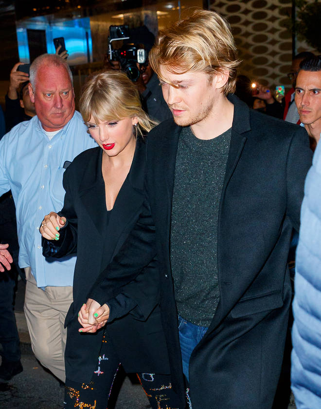 Taylor Swift and Joe Alwyn spent time together in London