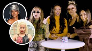 Little Mix take on Capital's 'Finish The Lyric' challenge