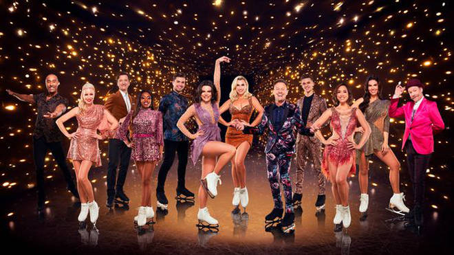 The 2021 'Dancing On Ice' cast