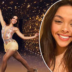 Vanessa Bauer has been on Dancing on Ice since 2018