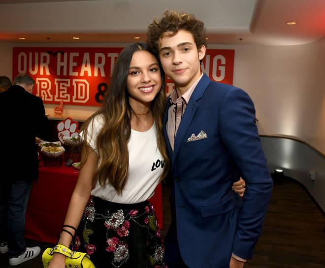 Olivia Rodrigo and Joshua Bassett were rumoured to be dating