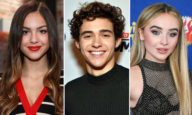 Olivia Rodrigo, Josh Bassett and Sabrina Carpenter are rumoured to be in a love triangle