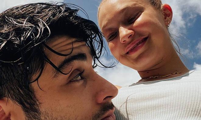 Gigi Hadid has shared an adorable portrait of 'Zaddy' Zayn Malik with their baby girl.