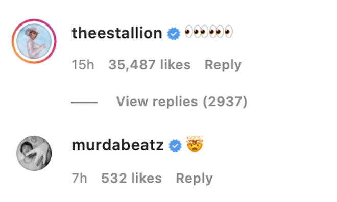 Megan Thee Stallion hints she's on the 34+35 remix