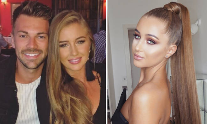 Love Island's Georgia and Sam in loved up photos