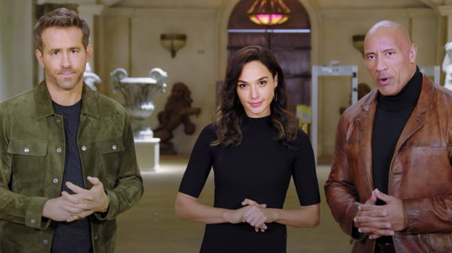 Ryan Reynolds, Gal Gadot and The Rock announced the new films coming to Netflix in 2021