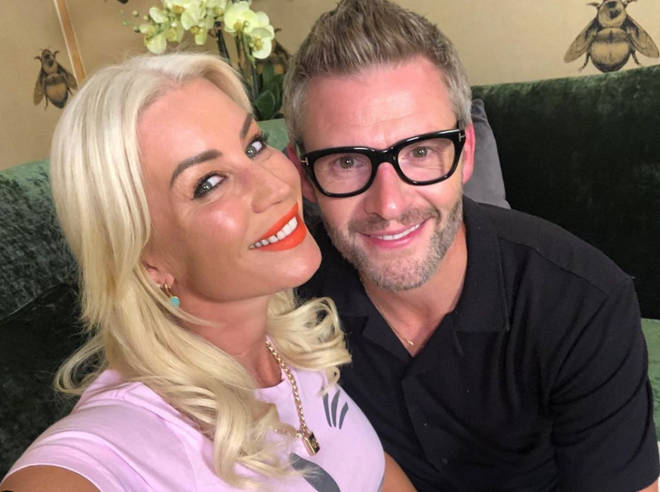 Denise van Outen is in a long-term relationship with Eddie Boxshall