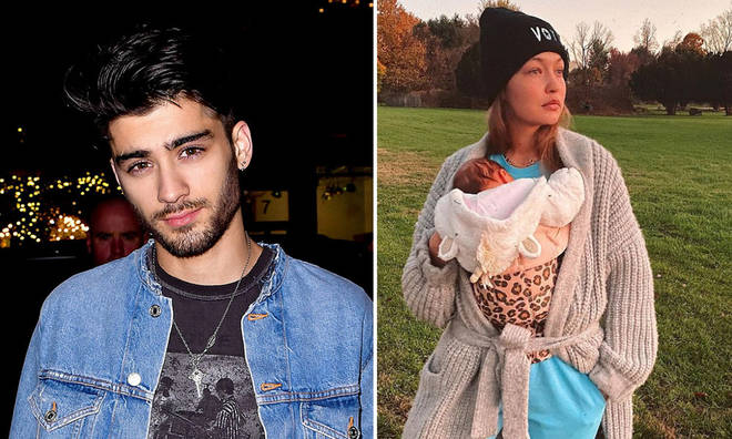 Zayn Malik's new album has fans looking for clues about Zigi's baby name
