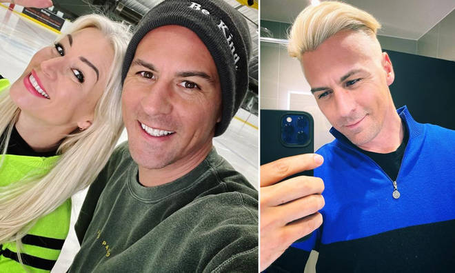 Matt Evers' will be skating with Denise Van Outen on Dancing On Ice 2021.