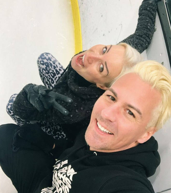 Matt Evers is one of the professional skaters on Dancing on Ice.
