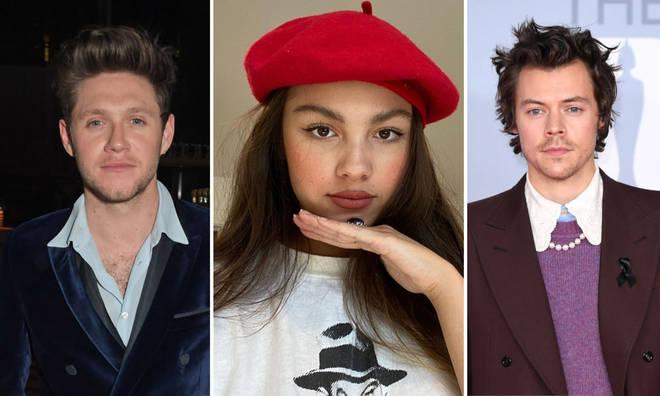 Olivia Rodrigo has fans in Niall Horan and Harry Styles