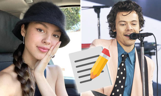 Olivia Rodrigo wrote One Direction fan fiction and now texts Harry Styles