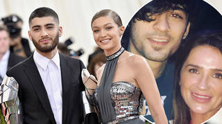 Gigi Hadid and Zayn Malik received a surprise gift from his mum