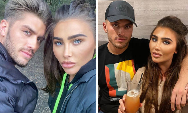 Lauren Goodger has announced she's pregnant. But who is her boyfriend?