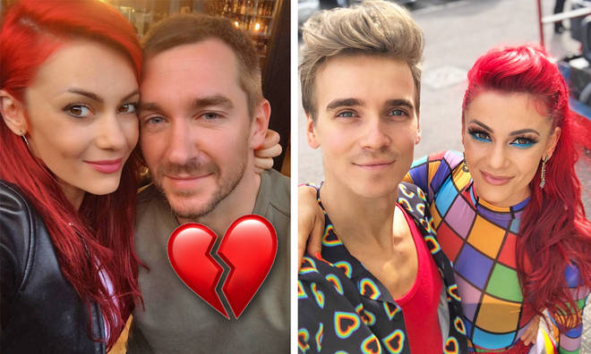 Joe Sugg's Strictly Come Dancing partner Dianne Buswell splits from her boyfriend