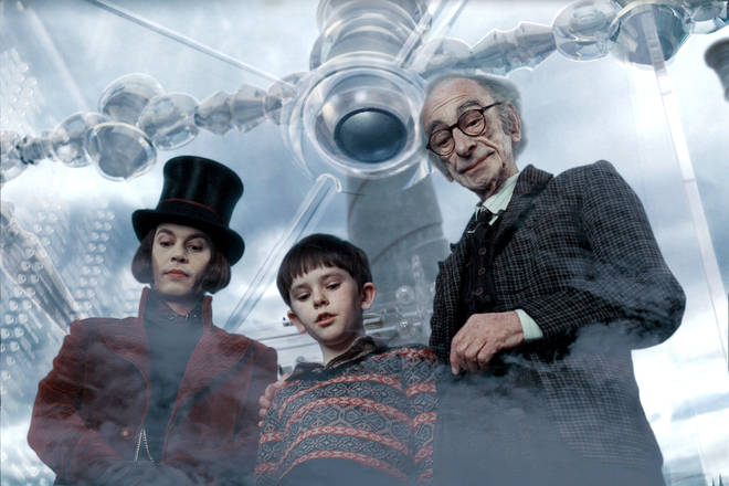 Johnny Dep played Willy Wonka in 2005
