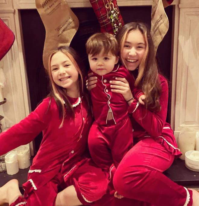 Myleene Klass has three children