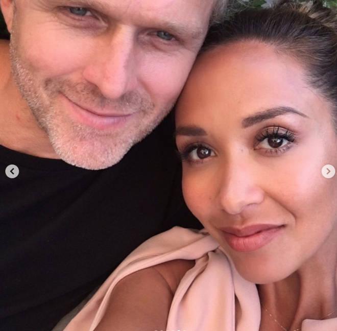 Myleene Klass is engaged to partner Simon Motson