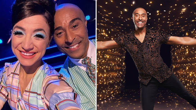 Colin Jackson is taking on Dancing on Ice