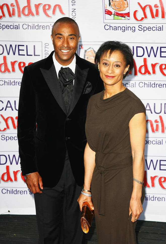 Colin Jackson's sister is actress Suzanne Packer