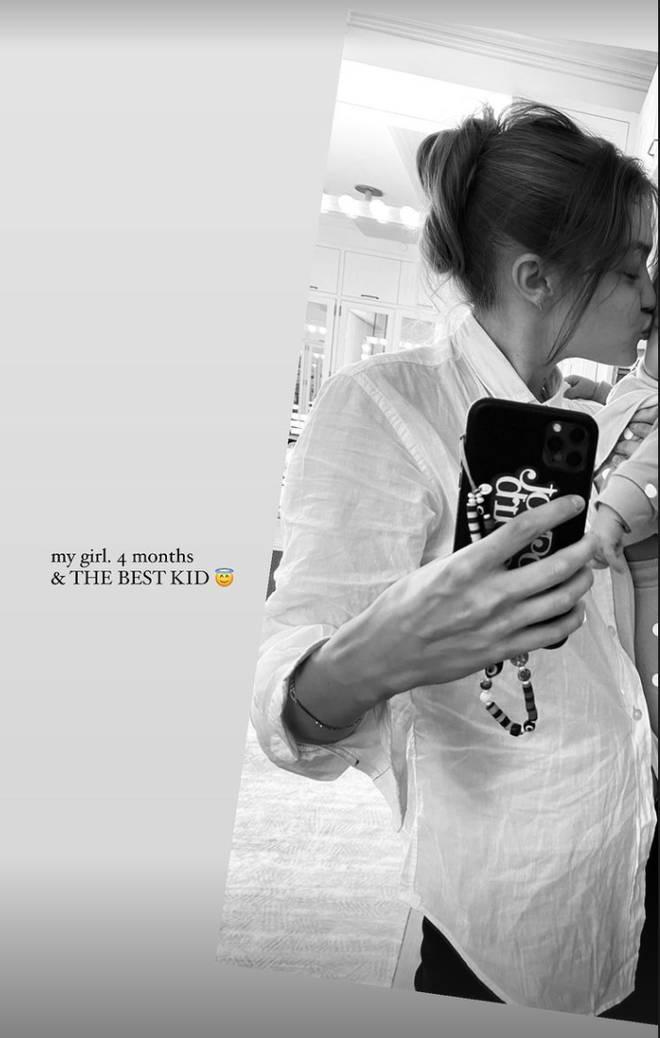Gigi Hadid called her baby girl 'the best kid'