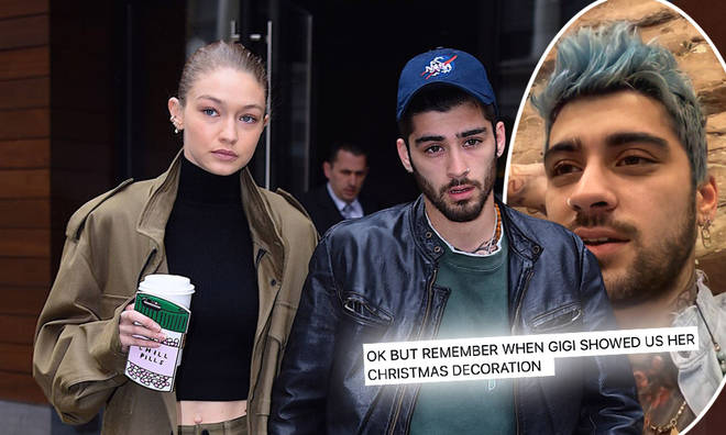 Gigi Hadid and Zayn Malik dropped clues about Khai's name for weeks