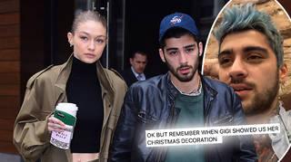 Gigi Hadid and Zayn Malik dropped clues about Khai's name for weeks