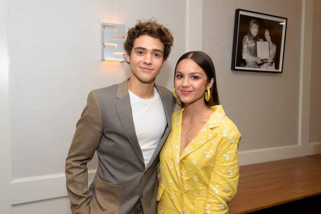 High School Musical: The Musical: The Series co-stars Olivia Rodrigo and Joshua Bassett