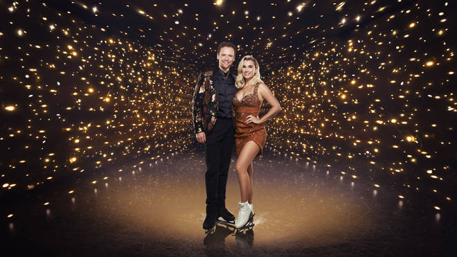 Dancing on Ice: Billie Faiers with partner Mark Hanretty