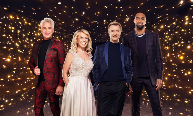 The Dancing on Ice judges decide who will stay in the competition