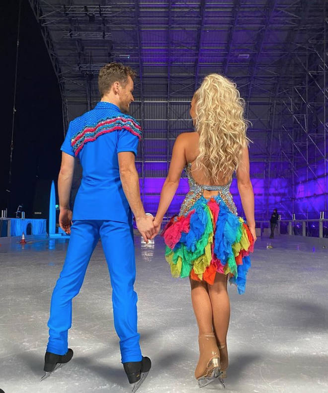 Dancing on Ice: Fans loved Billie Faiers' first performance