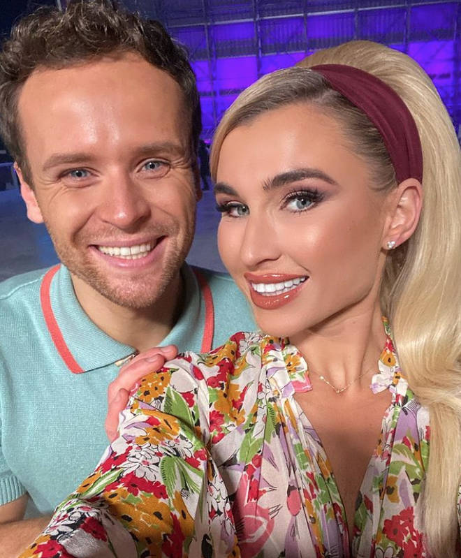 Dancing on Ice: Billie Faiers and partner Mark Hanretty