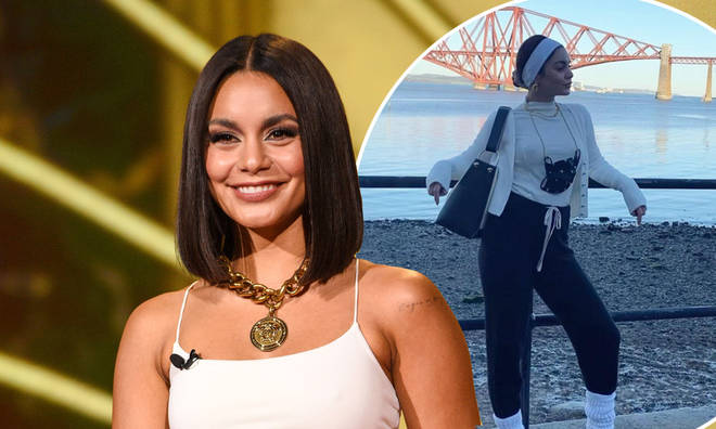 Vanessa Hudgens is in Scotland to film The Princess Switch 3