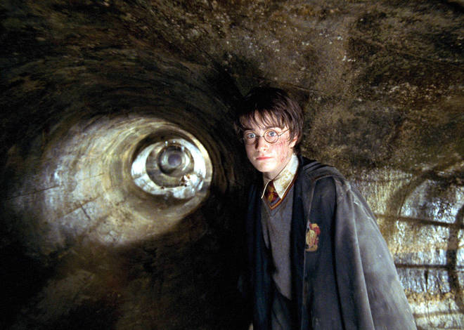 The seven Harry Potter books were made into eight feature films
