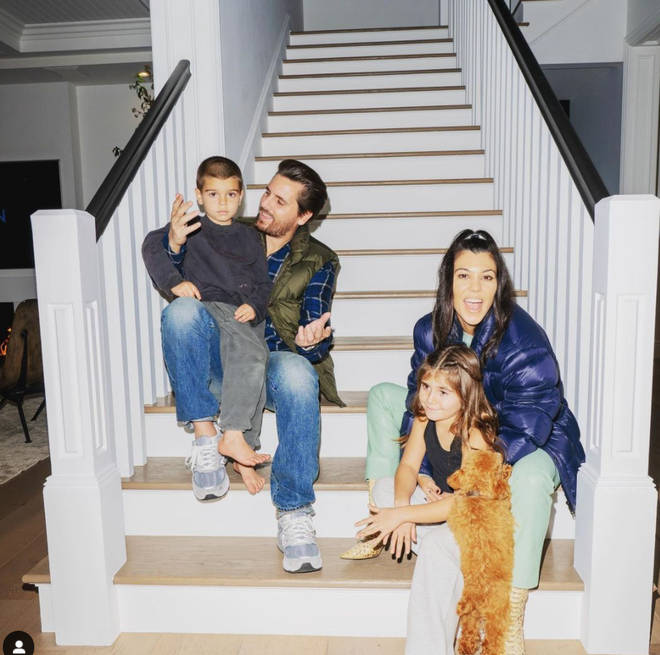 Kourtney Kardashian and Scott Disick share three children together