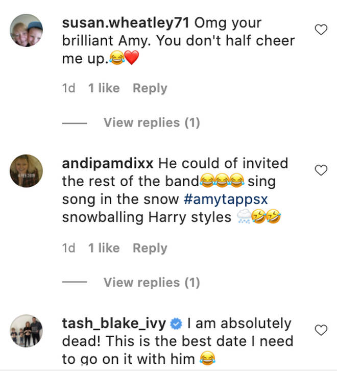 People are loving Amy Tapper's Harry Styles montage