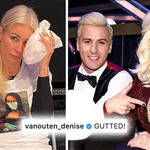 Denise Van Outen replaced on 'Dancing On Ice' following injury
