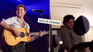Niall Horan's studio session has fans wanting a third album.
