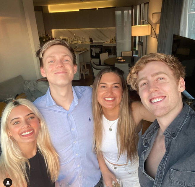 Ambar Driscoll and Casper live with pals Ellie Butler and Josh Pieters
