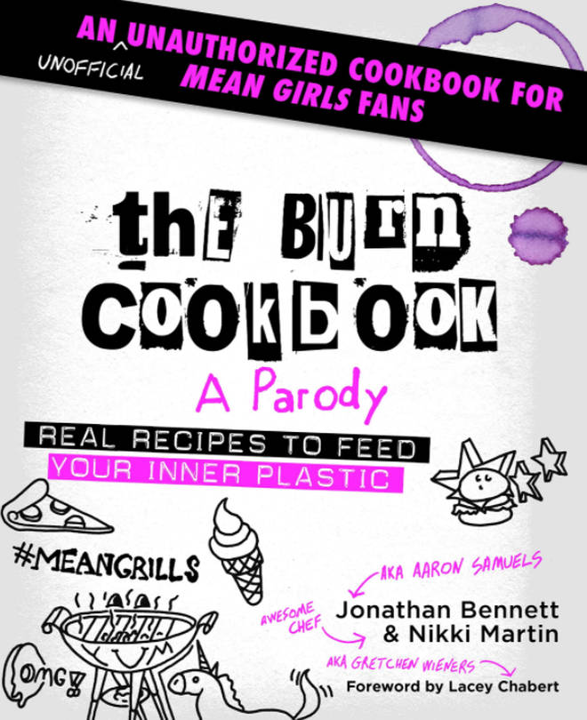 The actor wrote a cookbook dedicated to Mean Girls fans.