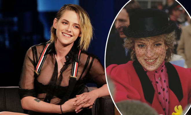 Kristen Stewart is playing Princess Diana in Spencer