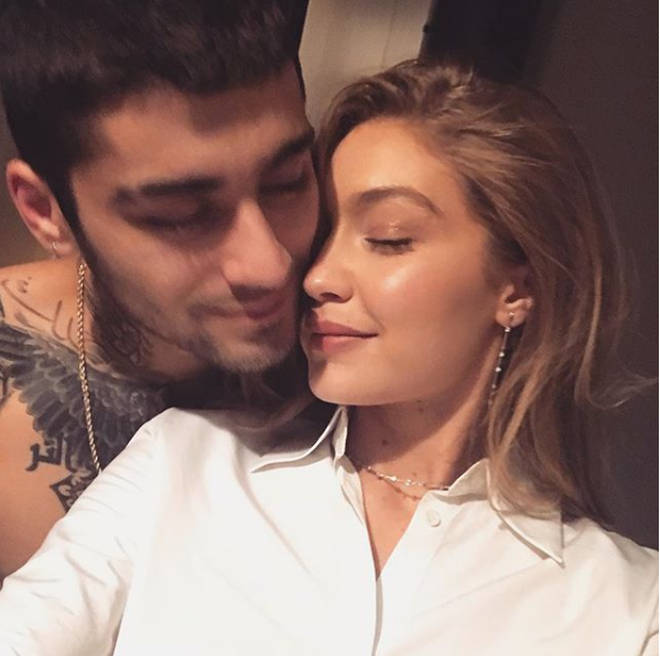 Image result for zayn and gigi hadid