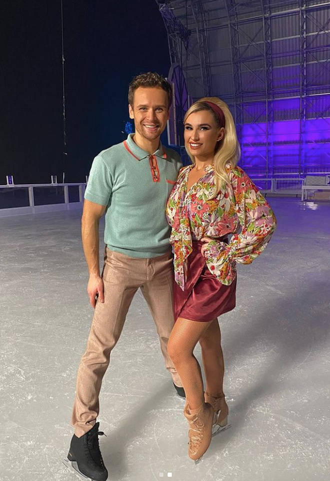 Billie Faiers will be back on the ice on the 7th February